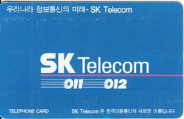 SOUTH KOREA - SK Telecom(W3000), 07/97, Used - Korea, South