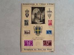 Nr.513/518  Herdenkingsblad Derde Orval. - Belgique