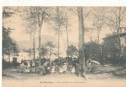 12 // SAINT AFFRIQUE    Vue Partielle Du Jardin Public - Saint Affrique