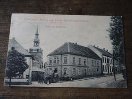Postkarte Tholey Marktplatze 1912 - Kreis Sankt Wendel