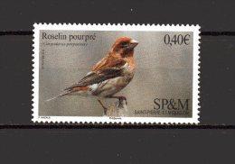 N°  1148 - 0.40 €  - Oiseau Roselin Pourpré E - St.Pierre & Miquelon