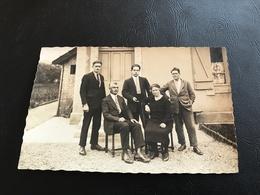 Carte Photo Famille LANGRES 1929 - Langres