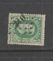 COB 30 Oblitération à Points 210 LEAU +25 - 1869-1883 Léopold II