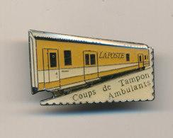 LA POSTE COUPS DE TAMPON AMBULANTS - Mail Services
