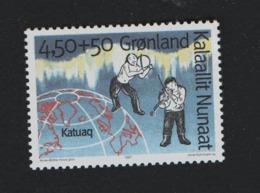 Groenland °° 1997  N 283 Musicien - Groenland