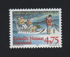Groenland °° 1997  N 293 Traineau Noel - Groenland