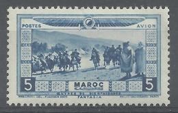 French Morocco, Fantasia Performance, 5c., 1928, MH VF, Airmail - Maroc (1891-1956)
