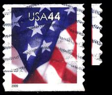 Etats-Unis / United States (Scott No.4392 - Flag) (o) Coil - Verenigde Staten