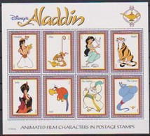 2526a  Walt Disney   Guyana - Aladin ( Animated Film Story In Postage Stamps ) . - Grenade (1974-...)