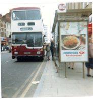 35mm ORIGINAL PHOTO BUS BIRMINGHAM BROAD STREET - F017 - Photographs