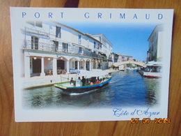 Port Grimaud. Cite Lacustre Realisee Par Francois Spoerry. Aris 18518 - Port Grimaud