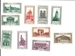 AV94 - VIGNETTES LA BELLE FRANCE - PARIS - Commemorative Labels