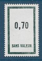 Timbre  Fictif Neuf** France, N°F 164, 0.70 - Fictie