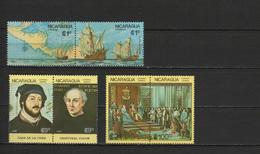 Nicaragua 1986 Ships, Christopher Columbus, 500th Anniversary Discovery Of America Set Of 6 MNH - Cristoforo Colombo