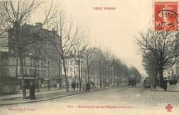 75019 - PARIS - Boulevard De La Villette - TOUT PARIS 464 - Arrondissement: 19