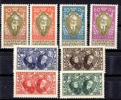 Liechtenstein YT N° 82/89 Neufs ** MNH. TB. A Saisir! - Liechtenstein