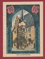 Allemagne 1 Notgeld 10 Pfenning Stadt Neustadt-A-Orla UNC   Lot N °4043 - Collections