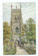 Worcestershire  Poscard  Artist Signed A.r.quinton Salmon 3024  Evesham - Worcestershire
