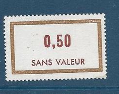 Timbre  Fictif Neuf** France, N°F 177, 0.50 - Fictie
