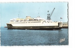 62 Calais Le Ferry Boat Compiegne Bateau Ferry Paquebot CPSM PF Edit Estel N°88413 Photo - Calais