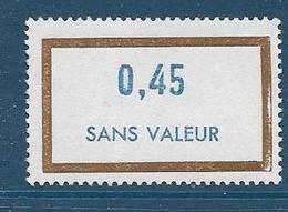Timbre  Fictif Neuf** France, N°F 176, 0.45 - Fictie
