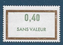 Timbre  Fictif Neuf** France, N°F 181, 0.40 - Fictifs
