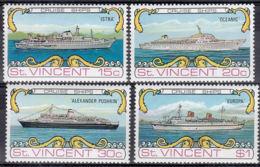 Saint Vincent 353/56 ** - Schiffe