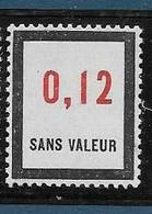 Timbre  Fictif Neuf** France, N°F 160, 0.12 - Fictie