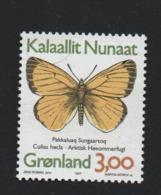 Groenland °° 1997 N 279 Papillon - Groenland