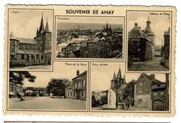 Souvenir De Amay - Multi-vues - Circulée - 2 Scans - Amay