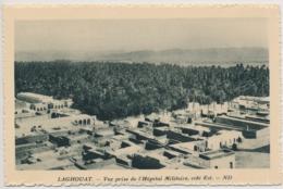 Laghouat (arabisch الأغواط Al-Aghwat Vue Prise De L' Hopital Militaire  - Édité Spécial Pour Hôtels Transatlantique - Laghouat