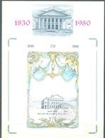 BELGIUM -  31.5.1980 - FDC  - THEATRE ROYAL DE LA MONNAIE - COB BL55 -  Lot 19888 - 1971-80