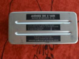 ARMEE AIR RATION DE SECOURS/ SURVIE POUR PILOTE? IN 63 EN ALU TB ETAT - Uitrusting