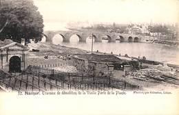 Namur - Travaux De Démolition De La Vieille Porte De La Plante (Phototypie Géradon, Animée) - Namur