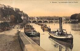 Namur - La Remorque Vers La Plante (animée Colorisée SBP 7) - Namur