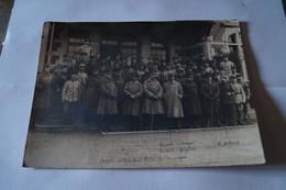 Guerre 14-18,ancienne RARE Photo Décembre 1918,Spa,commission D'Armistice,originale,22 Cm. Sur 16,5 Cm - Guerre, Militaire