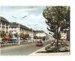 44 St Saint Nazaire Avenue De La Republique Vieille Voiture Camionnette Hotel CPSM GF Edit Estel N°17892 Photo - Saint Nazaire
