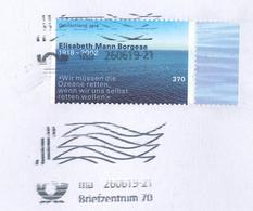 Elisabeth Mann Borgese Ozean Rettung Retten Briefstück - BRD