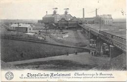 Chapelle-Lez-Herlaimont NA15: Charbonnage De Bascoup, Vue D'ensemble De La Fosse N°7 1914 - Chapelle-lez-Herlaimont