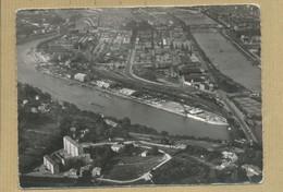 CPSM LYON 69 Vue Aérienne Cités Du Roule Les Ponts De La Mulatière Le Port Rimbaud - Lyon