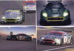 Lot De 12 Cards - Aston Martin DBR9 Au 24 Heures Du Mans   -  12 X Carte Postale Modern - Le Mans