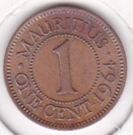 Ile Maurice , 1 Cent 1964 , Elizabeth II . Superbe/ XF - Maurice