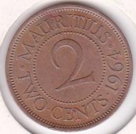 Ile Maurice , 2 Cents 1964 , Elizabeth II .Superbe/XF - Maurice