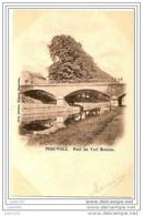 PERUWELZ ..-- Pont Du Vert Montois . Vers GAND ( Mr VAN LAEKEN ) . Voir Verso . - Péruwelz