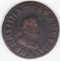Double Tournois 1608 A Paris. Henri IV. - 987-1789 Monnaies Royales