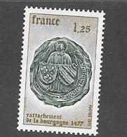 France-1944** 5é Centenaire Du Rattachement De La Bourgogne - Unused Stamps