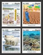 Z08 ANG190130a ANGOLA 2019 Climate Change MNH ** Postfrisch - Angola