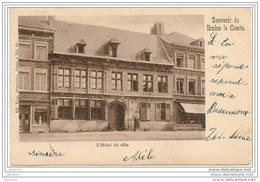 BRAINE - LE - COMTE ..-- Nels 4 , N° 27 . Hôtel De Ville . 1900 Vers BEAUMONT ( Melle BRICUSSE ) . Voir Verso . - Braine-le-Comte