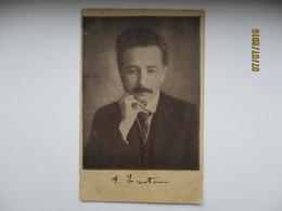 RUSSIA EXILE , JUDAICA , A. EINSTEIN , PUBLISHING HOUSE SLOVO BERLIN  ADVERTISEMENT CARD  ,0 - Nobelprijs