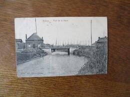 BOUSSU- PONT DE LA HAINE 1909 EDIT. DELATTRE-MOREAU - Boussu